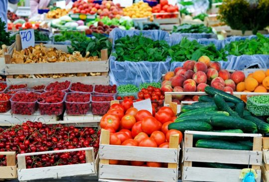 Daily market Albufeira