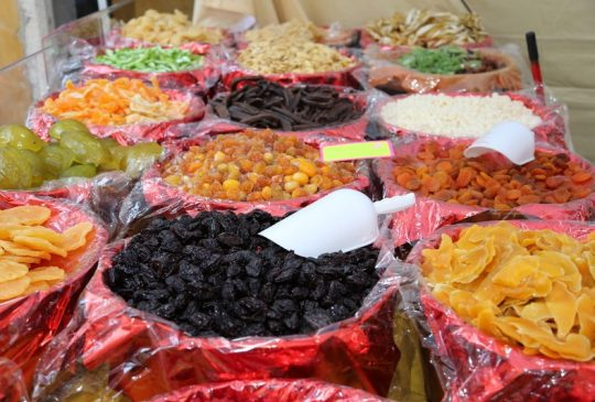 Dry fruit Silves market