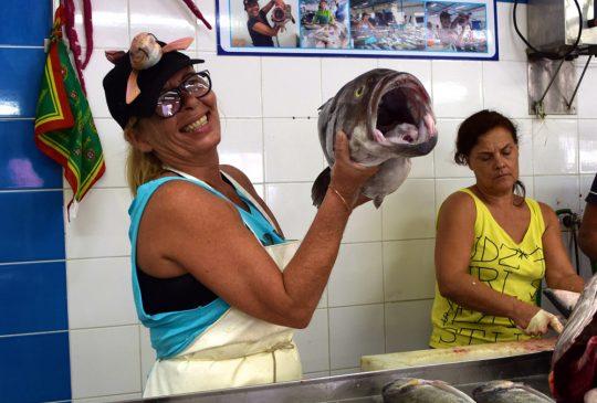 Fish-monger