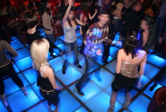 Nightlife dancefloor Albufeira