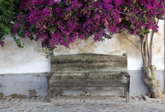 Santa Barbara de nexe old village