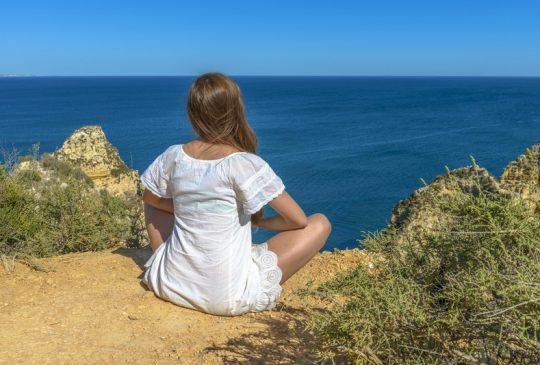 meditation ocean