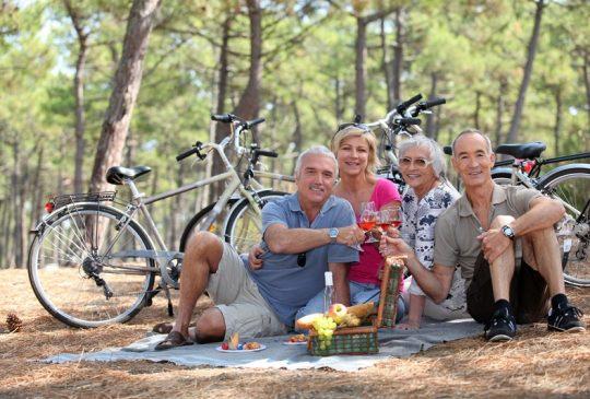 picknick biking